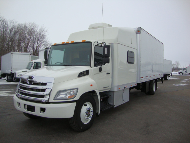 Picture of 2012 Hino 338 truck for sale